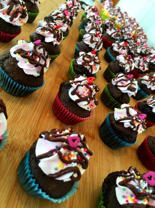#cupcake #mini #chocolate #dessert 的 免費圖庫相片