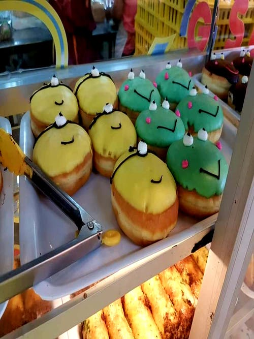 #donut #dessert #smiles #smiley face 的 免費圖庫相片
