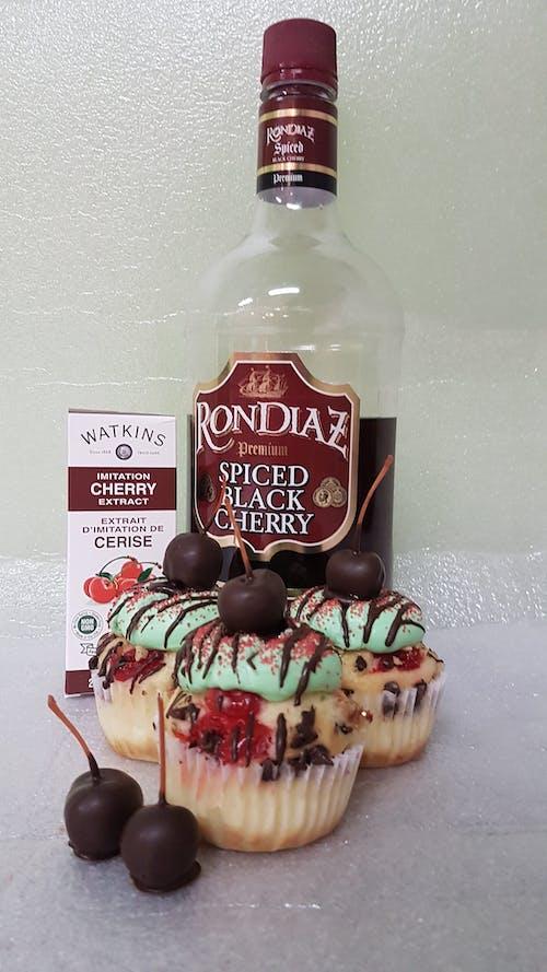 #cupcake #dessert #cherry #alcohol 的 免費圖庫相片