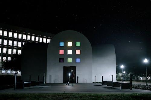 Základová fotografie zdarma na téma architektura, budovy, cestování, hvězdná obloha