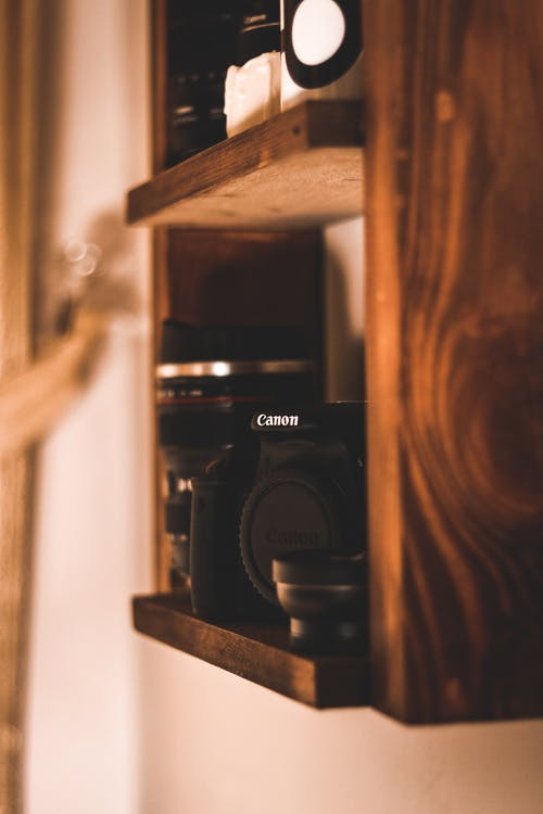 Close-Up Photo of Canon Dslr Camera