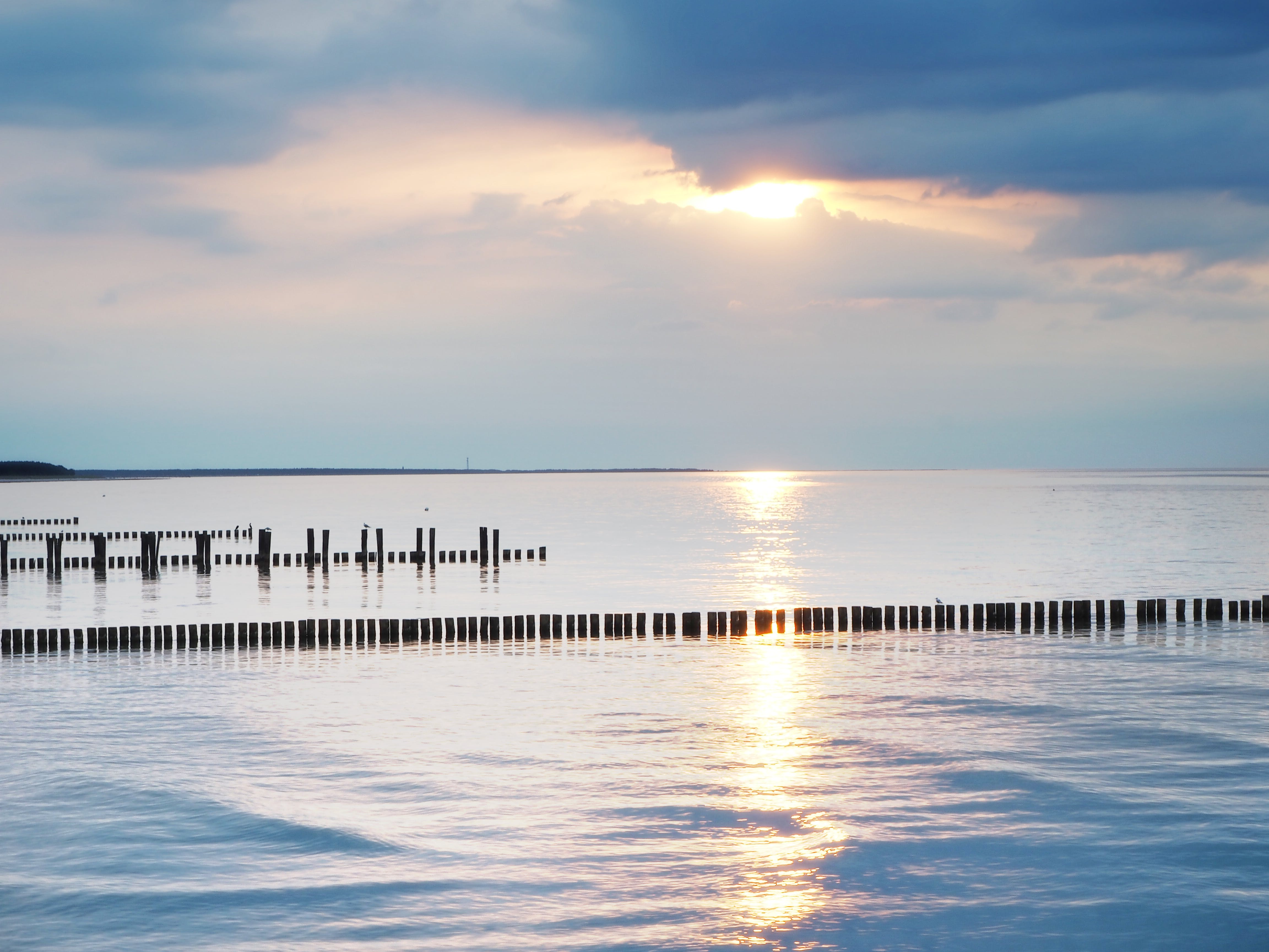 Free stock photo of Baltic Sea, evening