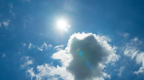 Gratis lagerfoto af himmel, nødblus