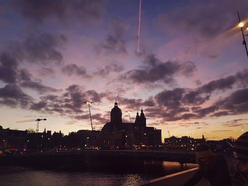 Foto profissional grátis de Amsterdã, Amsterdam, céu azul, céu azulado