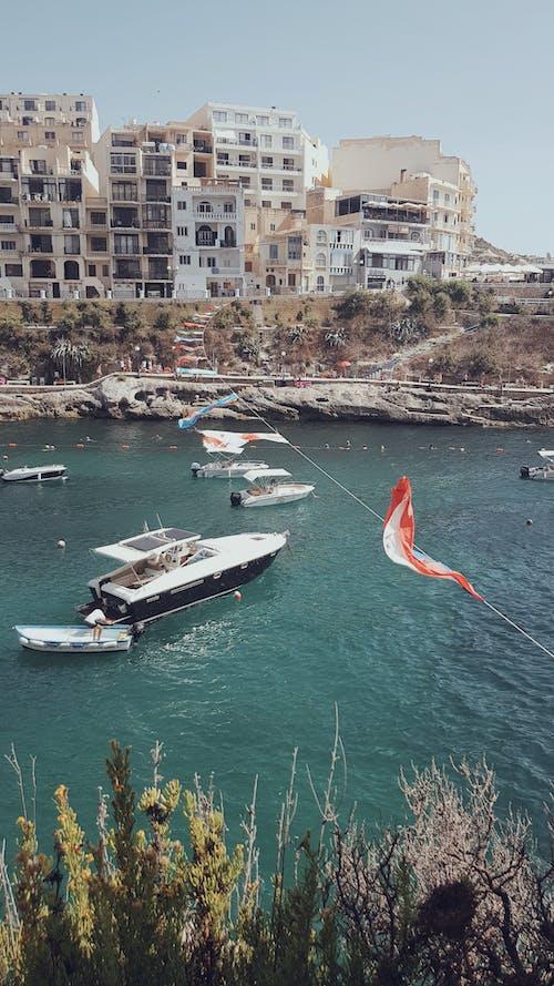 Foto profissional grátis de iate, Malta, mar, mediterrâneo