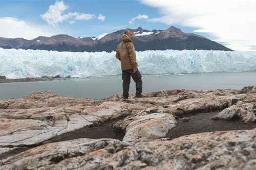 Free stock photo of adventure, explorer, glacier