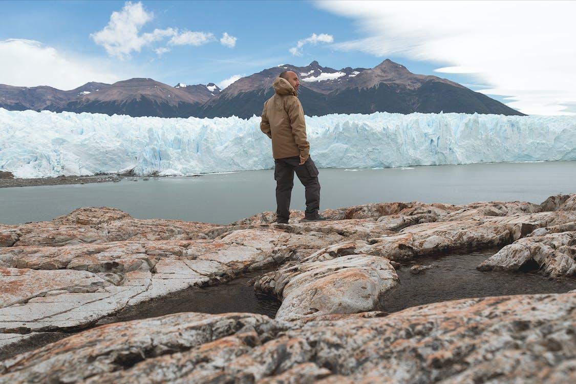 avventura, esploratore, ghiacciaio