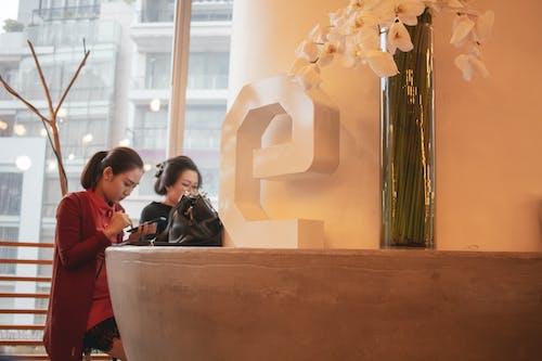 Бесплатное стоковое фото с девочка, занятый, сидящий