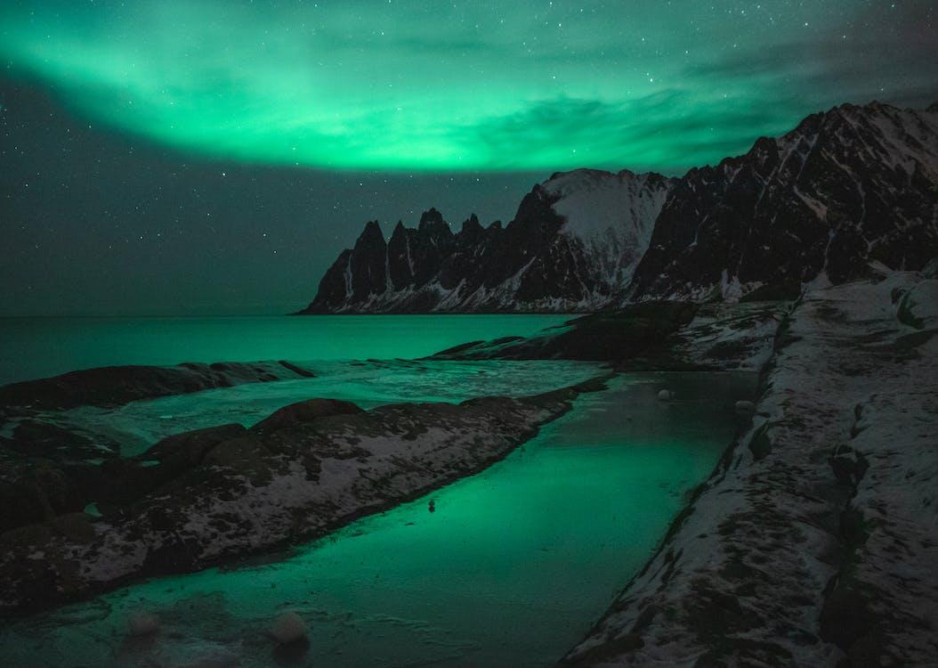 agua, Aurora, Aurora boreal