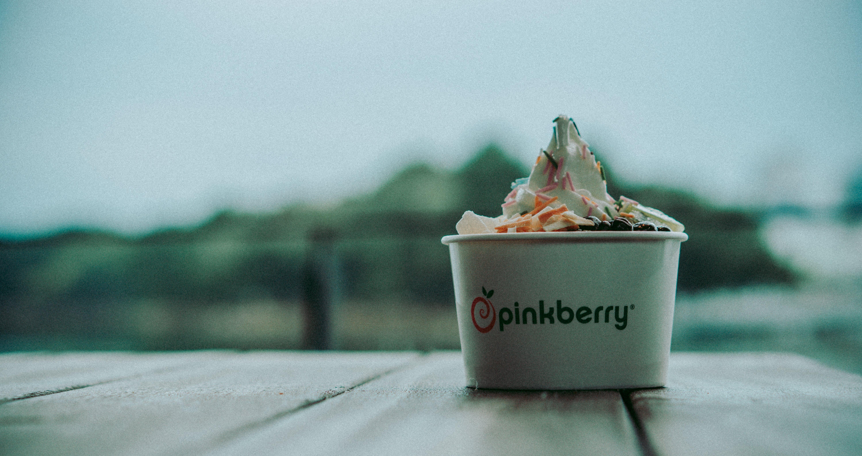 Close-Up Photo of Ice Cream Cup