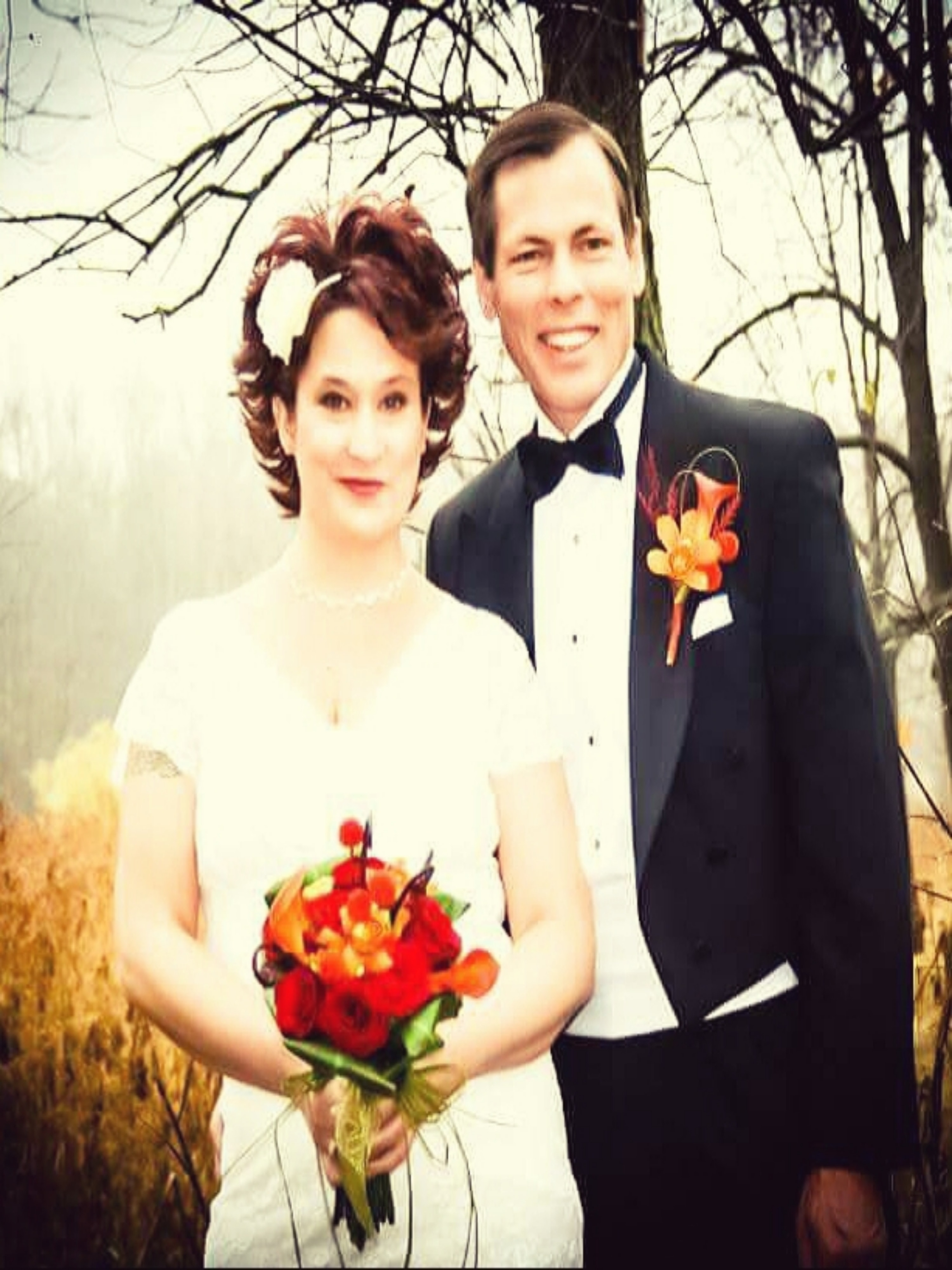 Free stock photo of #wedding #fall #love #bride #groom #heart