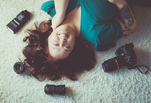 Fotos de stock gratuitas de cabeza roja con camara, cámara, fotógrafo, pelirrojo