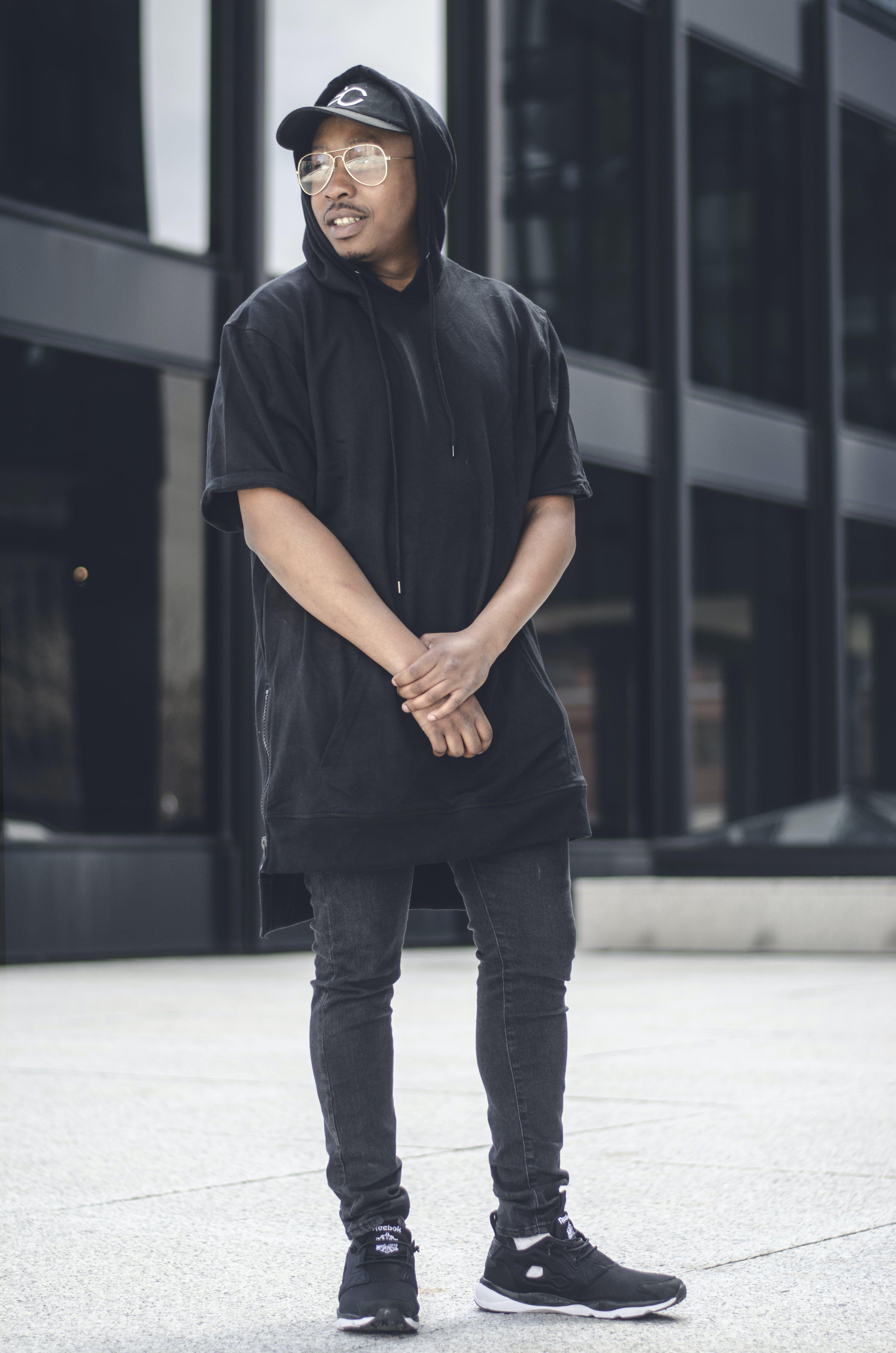 Photo of Man Wearing Hoodie