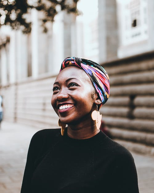 Photo of Woman Wearing Headscarf