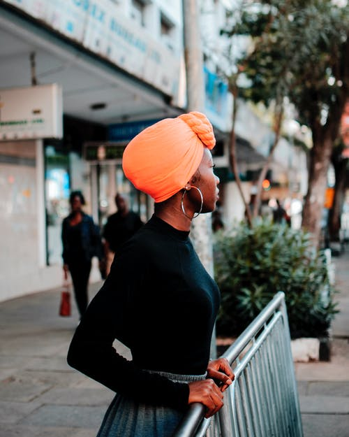 Photo of Woman Wearing Turban
