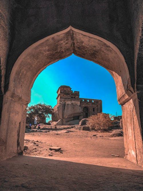 印度人, 古老的, 堡, 建築 的 免费素材照片