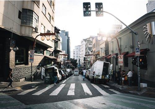 Základová fotografie zdarma na téma fotka ulice, městská oblast, Sao Paolo, širokoúhlá fotografie