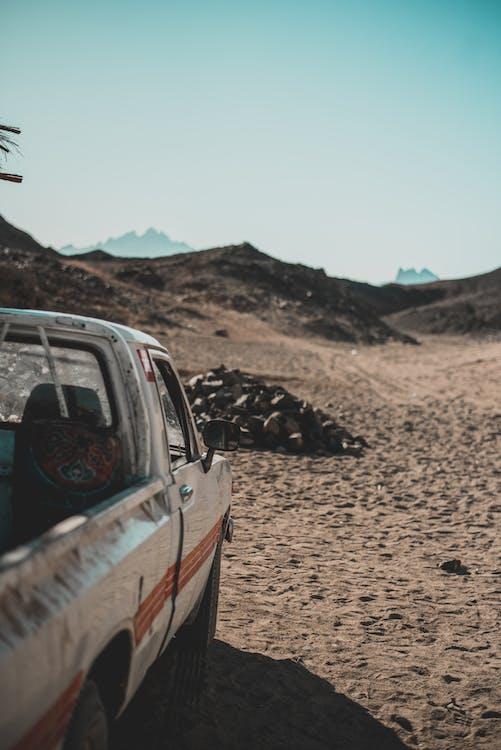 a l'aire lliure, automòbil, camí de carro