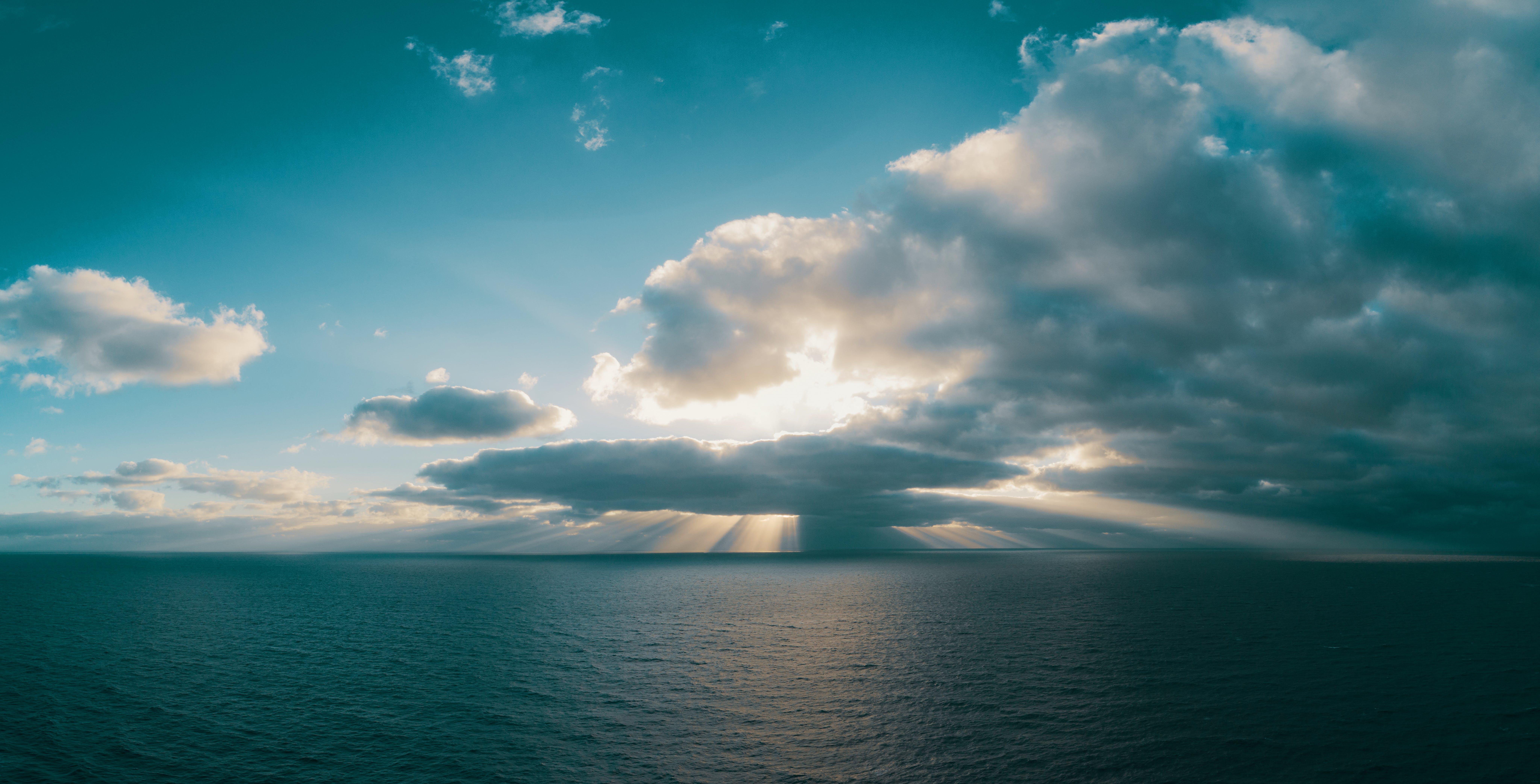 Kostenloses Stock Foto zu himmel, horizont, meer, natur