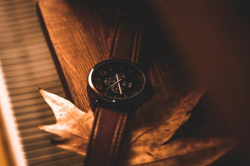 Selective Focus Photograph of Wrist Watch