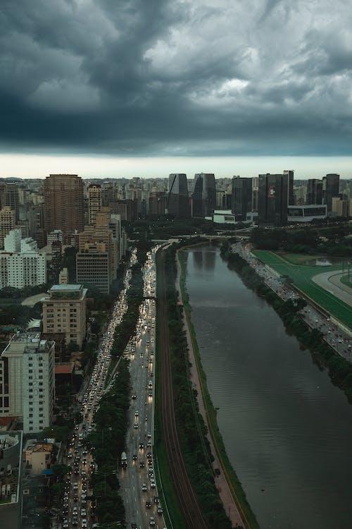 Free stock photo of 4k wallpaper, city, city view