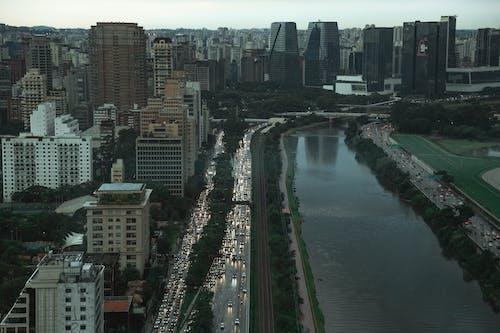 Fotobanka sbezplatnými fotkami na tému 4k tapety, mesto, mestské mrakodrapy, Sao Paulo