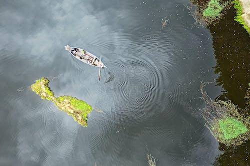 Gratis lagerfoto af båd, dagslys, droneoptagelser, farve