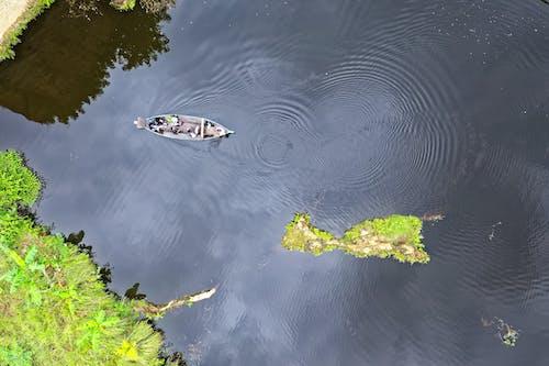 Photos gratuites de bateau, d'en haut, embarcation, fleuve