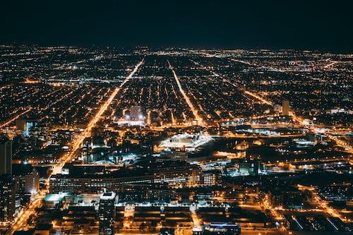 Základová fotografie zdarma na téma centrum města, chicago, letecký snímek, město