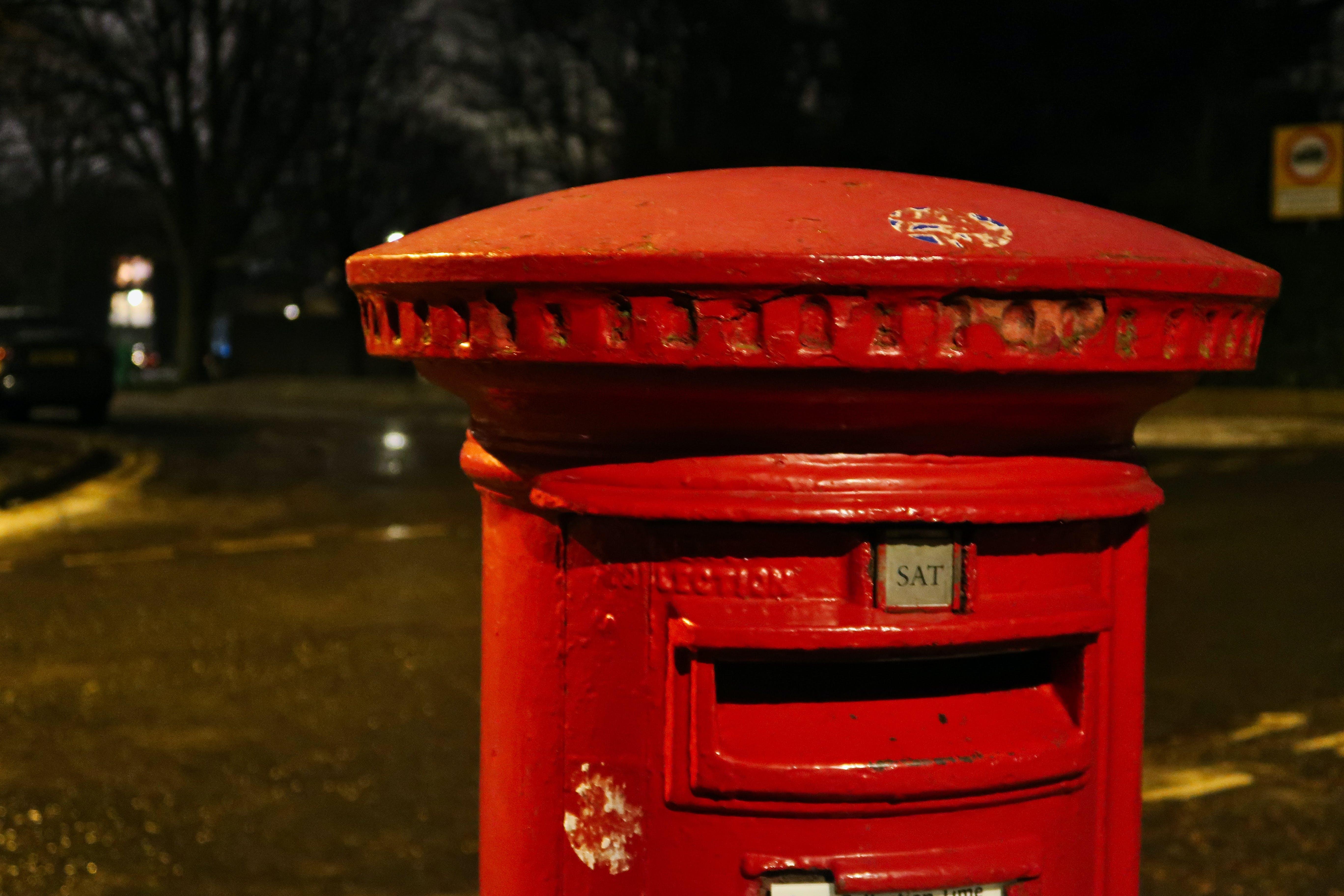 Photos gratuites de boîte aux lettres, boîte aux lettres rouge, boîte de rechange, boîte postale