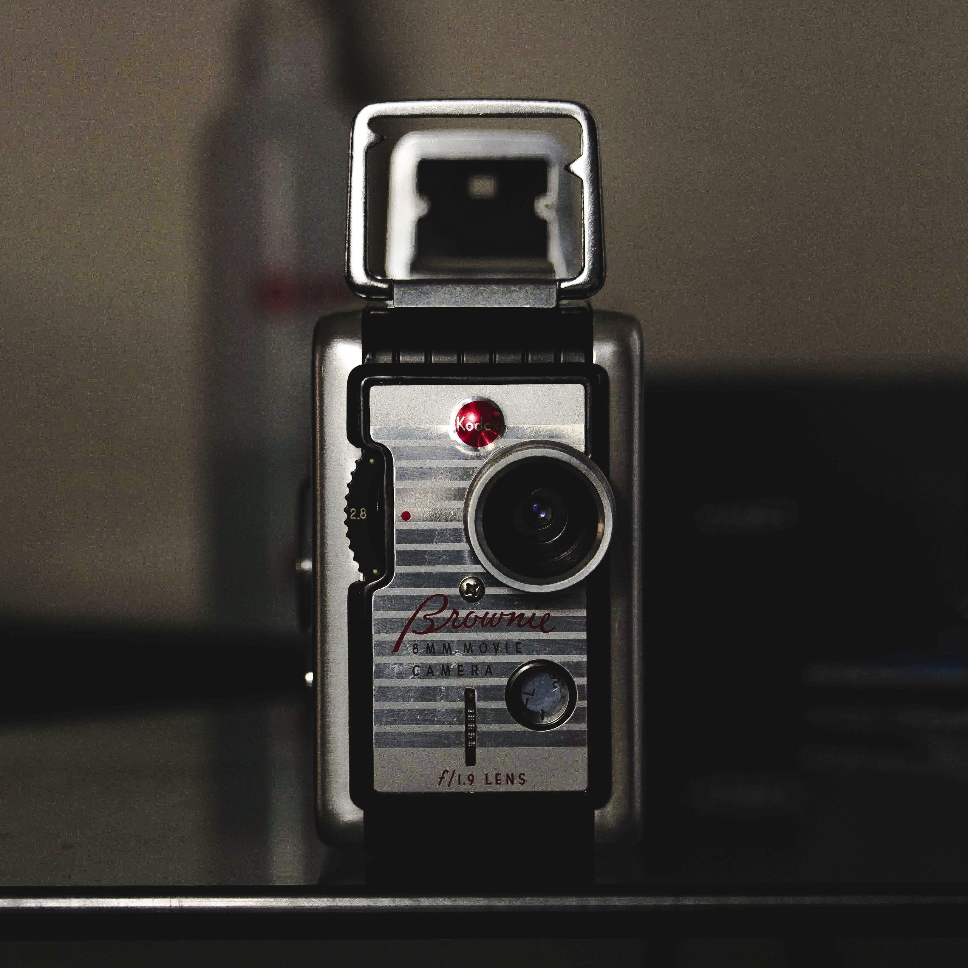Close-Up Photo of Kodak Brownie Camera