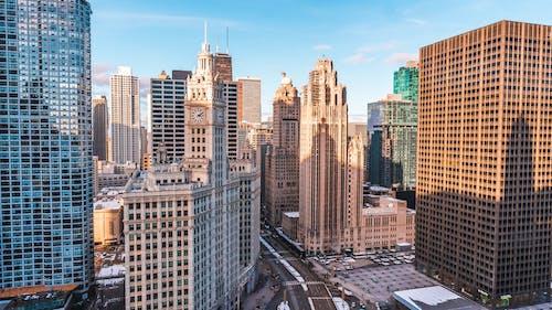 Ilmainen kuvapankkikuva tunnisteilla arkkitehtuuri, chicago, kaupunki, kaupunkimaisema