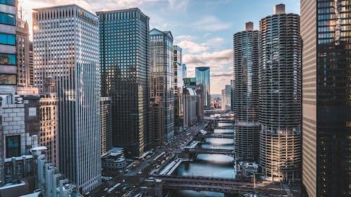Ảnh lưu trữ miễn phí về các tòa nhà, cảnh quan thành phố, chicago, kiến trúc