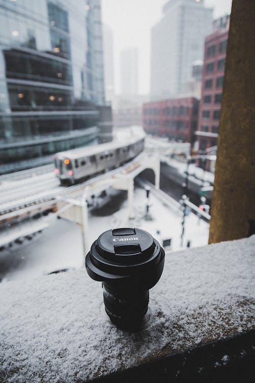 Foto d'estoc gratuïta de Canon, lent, objectiu de la càmera