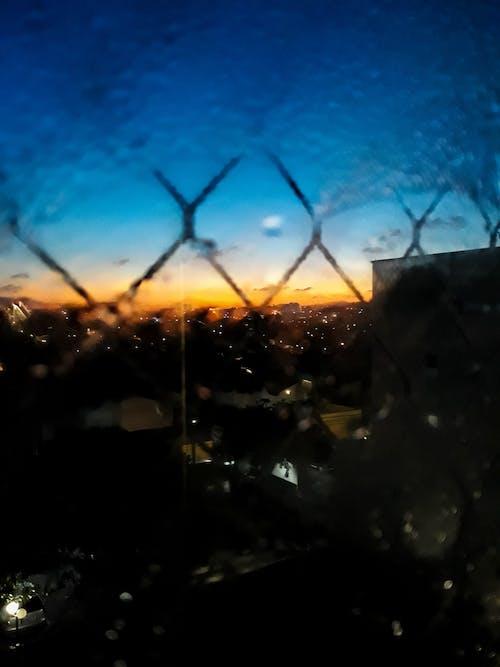 天空, 旋風護欄, 日落, 景觀 的 免費圖庫相片
