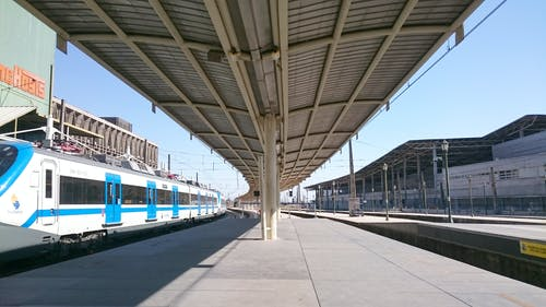 Ingyenes stockfotó elektromos vonat, vasutak, vasútállomás, vasúti pálya témában
