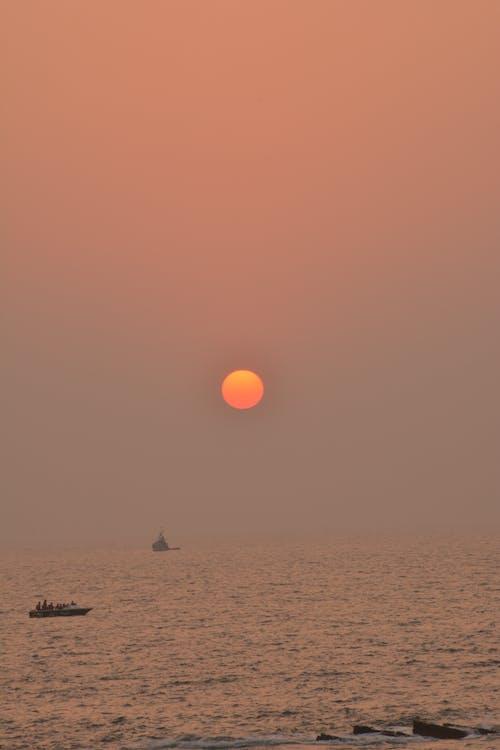 Ingyenes stockfotó 4k-háttérkép, arany ég, háttérkép, nap témában