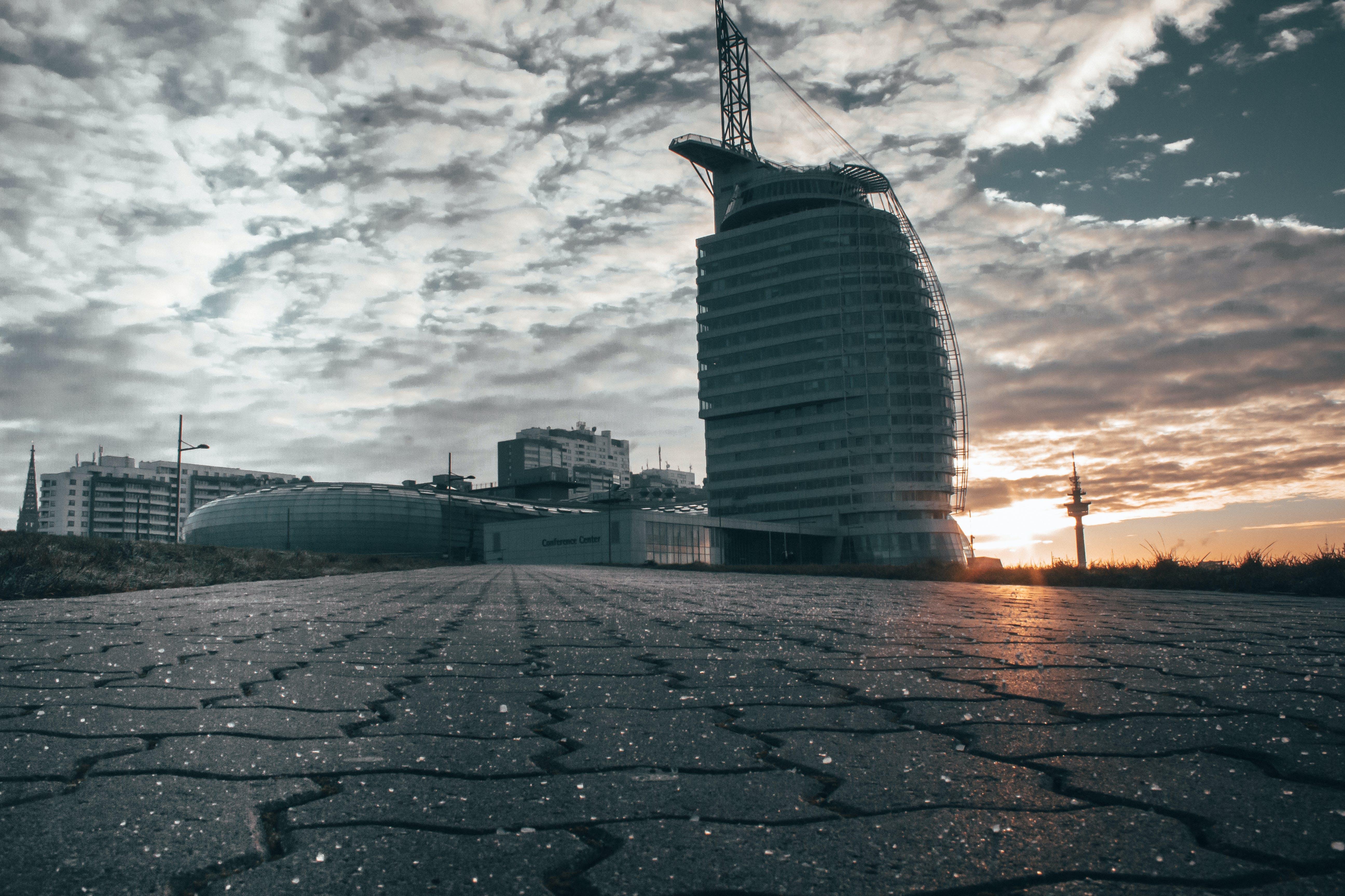 city-challenge, goldene sonne, skyline