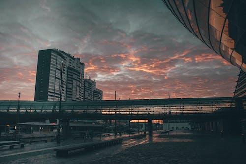 Kostenloses Stock Foto zu skyline, sonnenaufgang