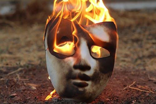 Free stock photo of burning, burnt, fire, mask