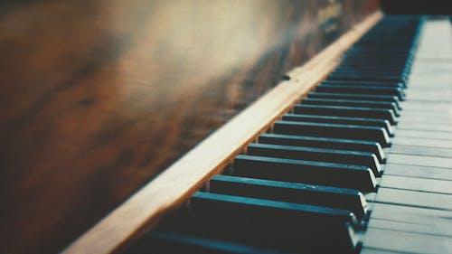 アンティーク, キー, キーボード, ピアノの無料の写真素材