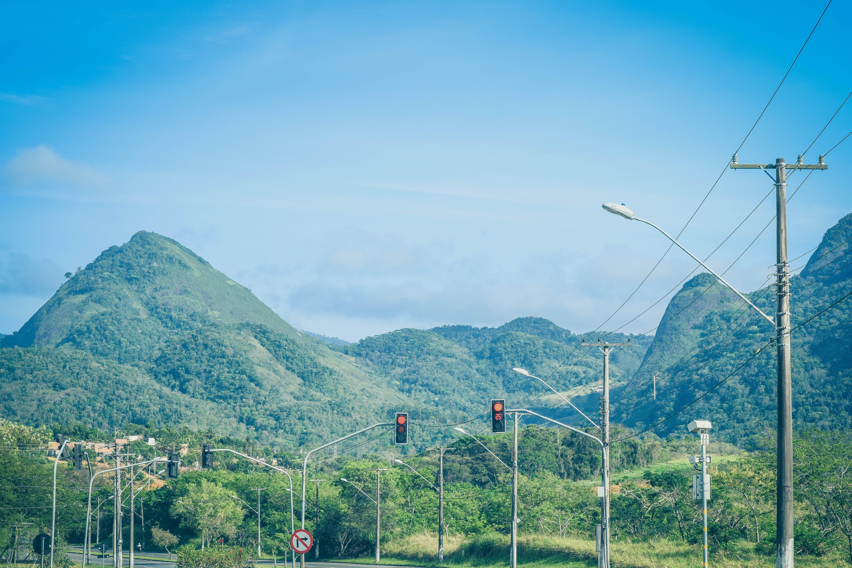 Free stock photo of adventure, blue sky, green, light