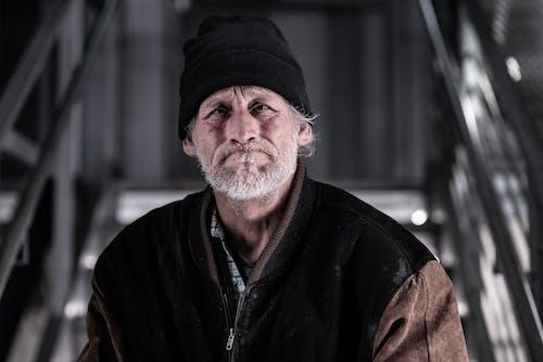 Free stock photo of full beard, homeless, homelessness, hungry