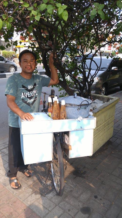 #indonesia #jakarta #muslim #street vendor 的 免費圖庫相片