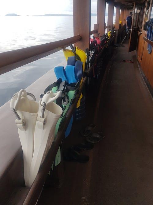 #indonesia #jakarta #boat #sea #diving #scuba 的 免費圖庫相片