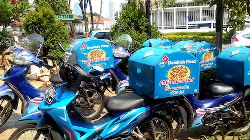#indonesia #jakarta #scooter #dominos 的 免費圖庫相片