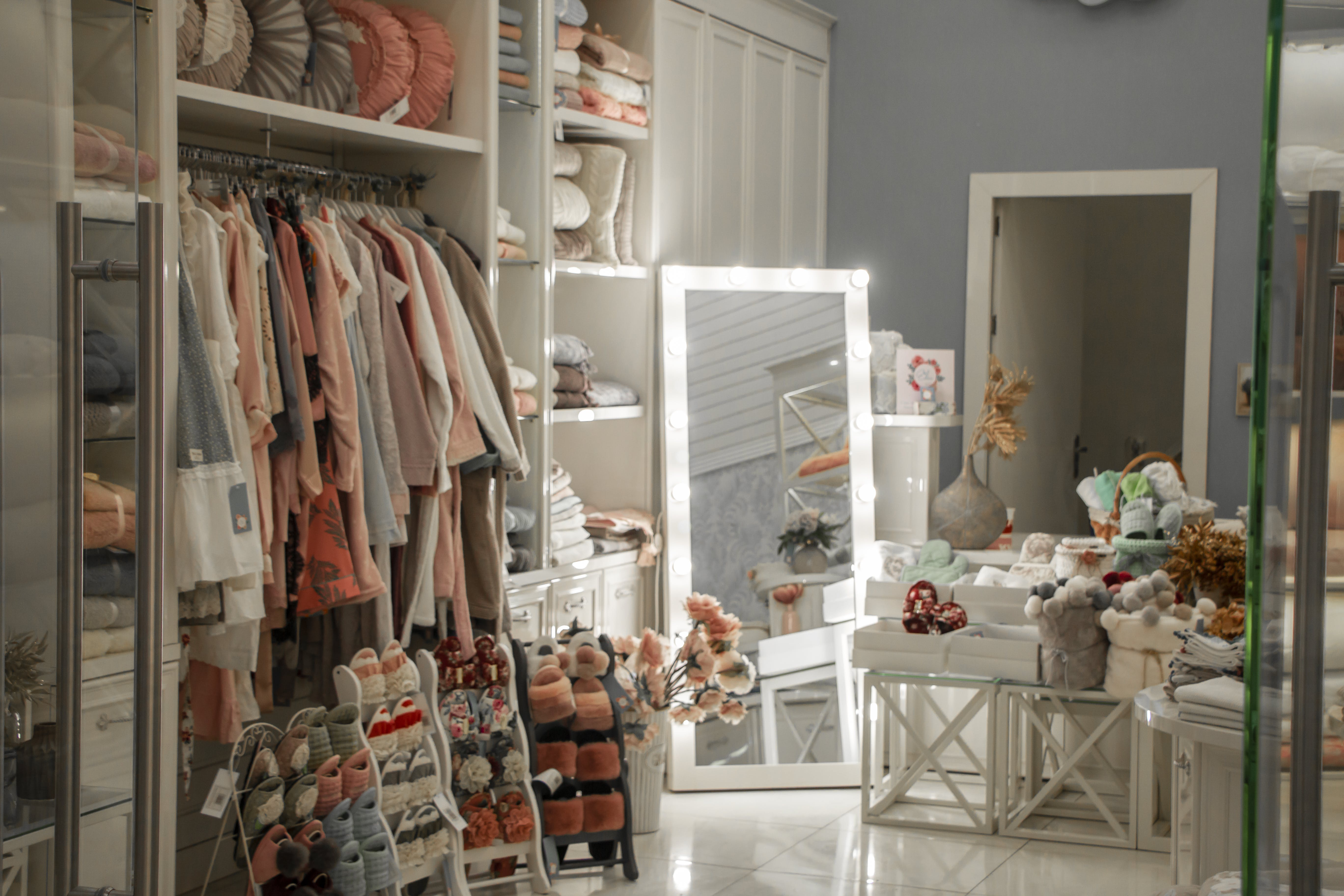 Room Filled with Clothes