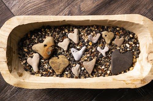 Безкоштовне стокове фото на тему «Деревина, камені, кубок, любов»