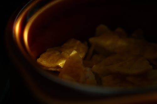 Základová fotografie zdarma na téma chipsy, západ slunce