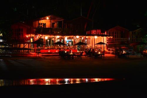 Ingyenes stockfotó 4k-háttérkép, éjszaka, éjszakai élet, éjszakai fények témában